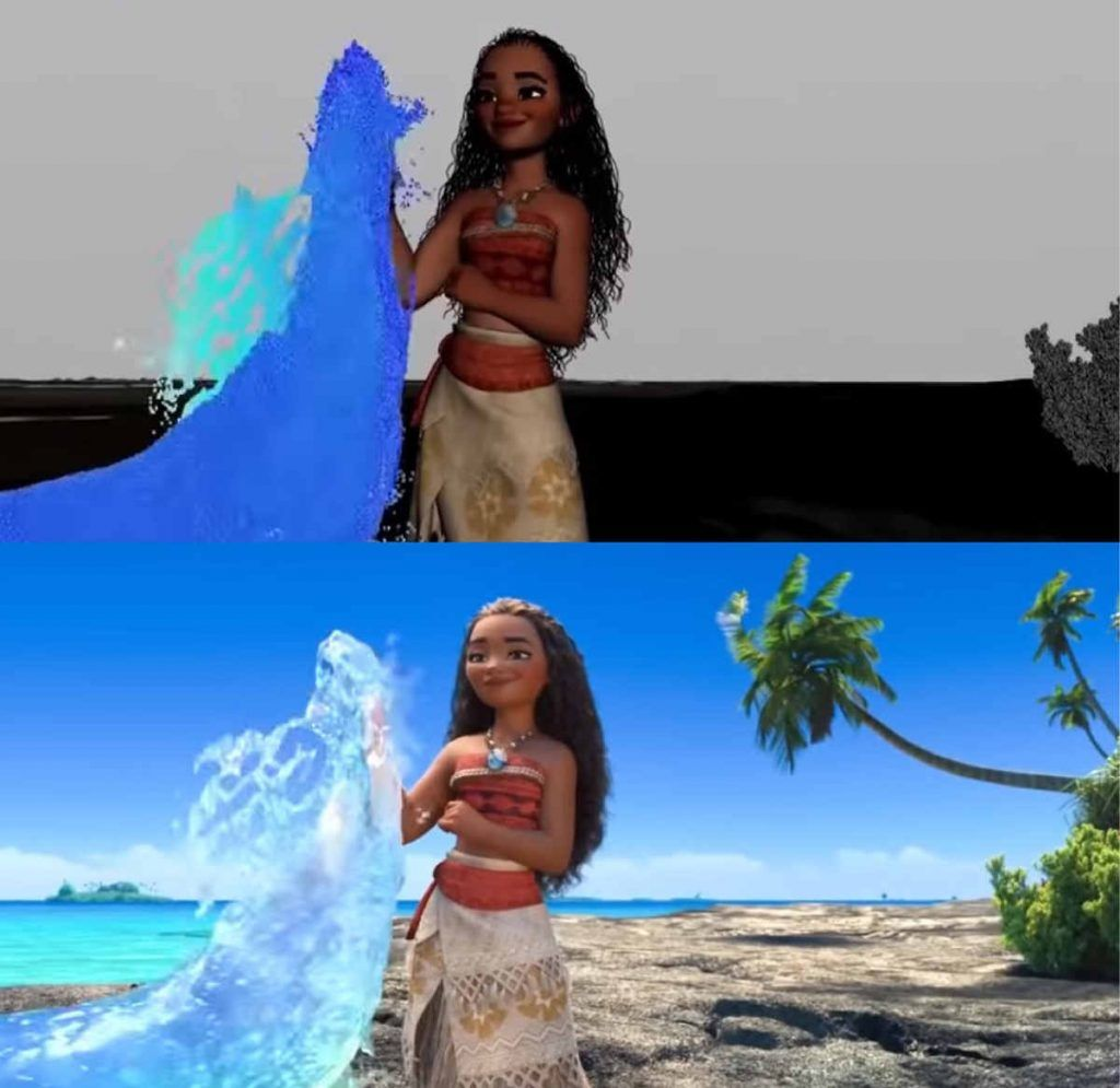 making of vaiana moana el regidor de cine