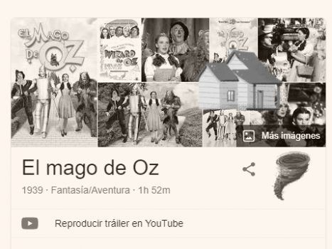 easter eggs de google sobre cine y series